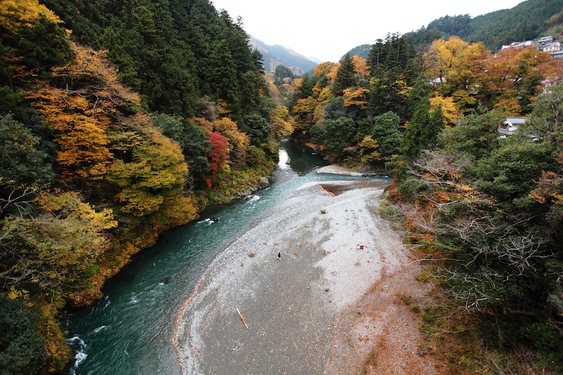 Okutama - River nearby